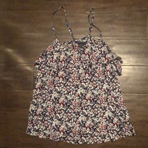 American Eagle floral tank S